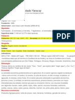 Características del Estado Yaracuy y Lara con los municipios Peña, Iribarren y Palavecino.docx