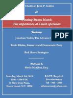 Campaign Seminar Invite