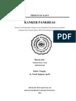 Presentasi Kasus Kanker Pankreas