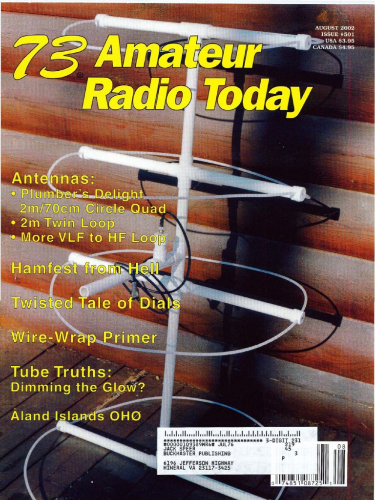 73 Magazine August 2002 Electronic Engineering Telecommunications Using A Mitsubishi M57762amplifier Module This Amplifier Delivers 20