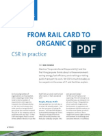 From Rail Card to Organic Coffee
