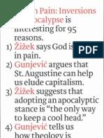 God in Pain Inversions of Apocalypse by Slavoj Zizek