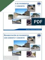 Rehabilitacion de Pavimentos Con Cemento y Concreto