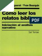 105515814 Marguerat Daniel Como Leer Los Relatos Biblicos