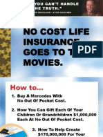 No Cost Life Goes to the Movies