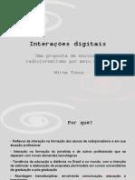 Apresentação Tese Interações Digitais