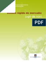 Sondeo Jugo de Noni (Morinda Citrifolia)