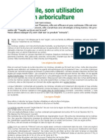 L'argile en arboriculture