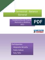 Trabajo Semestral Balance General