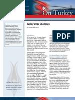 Turkey's Iraq Challenge