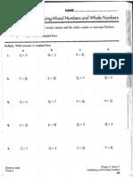 Mult. Mixed Frac Worksheet