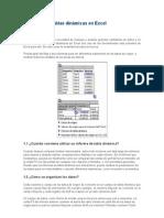 El uso de las tablas dinámicas en Excel