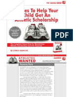 Athletes Wanted PDF 8 Rules