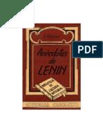 Anécdotas de Lenin