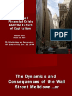 Global Financial Crisis and the Future of Capitalism, Dec[1]. 15, 2008