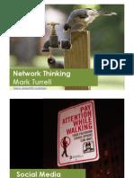 TEDxBerlin - Mark Turrell on 'Network Thinking'