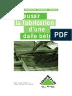 La fabrication d'une dalle béton.pdf
