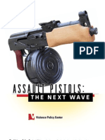 Violence Policy Center Report on Assault Pistols