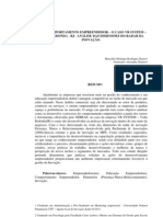 O COMPORTAMENTO EMPREENDEDOR – O CASO VR SYSTEM – VOLTA REDONDA - RJ - ANÁLISE DAS DIMENSÕES DO RADAR DA INOVAÇÃO.