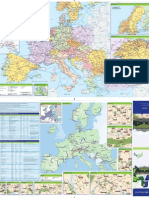 2013 Europe Rail Map