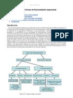 Fuentes y Formas Financiamiento Empresarial