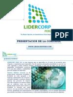 Presentacion Lidercorp Peru Sac
