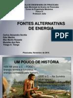 Apresentação de Energia Alternativa