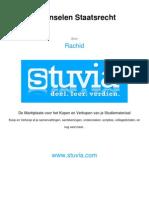 Stuvia 12280 BeginselenstaatsrechtHC f