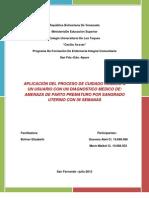 Caso Clinico APP 36 SEMANAS Julio Del 2012 (Autoguardado)