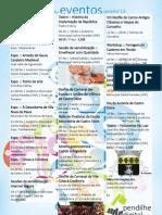 Agenda de eventos.fev'13