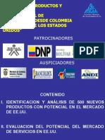 500 Productos Exportadores Colombiano