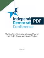IDC Min Wage Report 2013