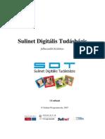 SDT felhasználói kézikönyv