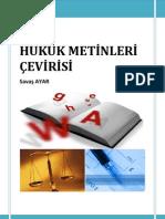hukuk metinleri çevirisi