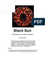 Peter Wilberg - Black Sun - The Occult Power Within All That Is