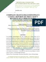 Complejo Granuloma Eosinofílico Canino