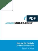Manual Tablet Multilaser