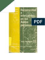 Enrique Mayer y Giorgio Alberti Reciprocidad e Intercambio en Los Andes Peruanos