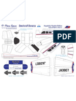 Bonanza JA3907-Flyable Edition