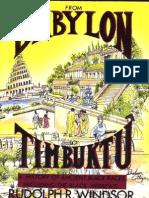 From Babylon to Timbuktu Rudolph Winsdor