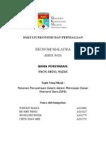 Kertas Kerja Ekonomi Malaysia