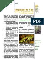 Escarpment to Sea Newsletter Summer 2012-3