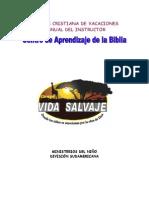 Manual escuela dominical o EBDV- Vida Salvaje