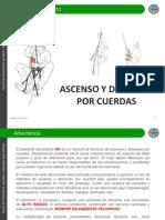 CAM Taller de Ascenso y Descenso Por Cuerdas 2011