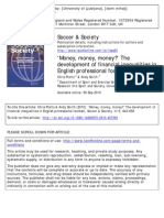 'Money, money, money' The development of financial inequalities in English professional football