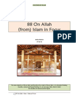 088 On Allah - From Islam in Focus