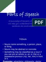 20176668 Parts of Speech