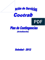 PLAN DE CONTINGENCIAS ESTACIÓN DE COMBUSTIBLE