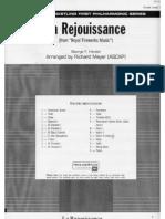 Rejouissance Score