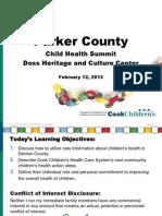 Parker County CCHAPS 2012 Data